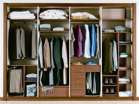 Cómo distribuir el interior de tu armario