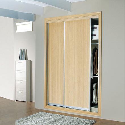 Inmeblock renovar un armario empotrado - Interiores de armarios leroy merlin ...