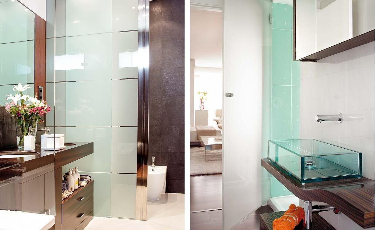 Inmeblock ahorra espacio con una puerta corredera - Puertas para banos pequenos ...