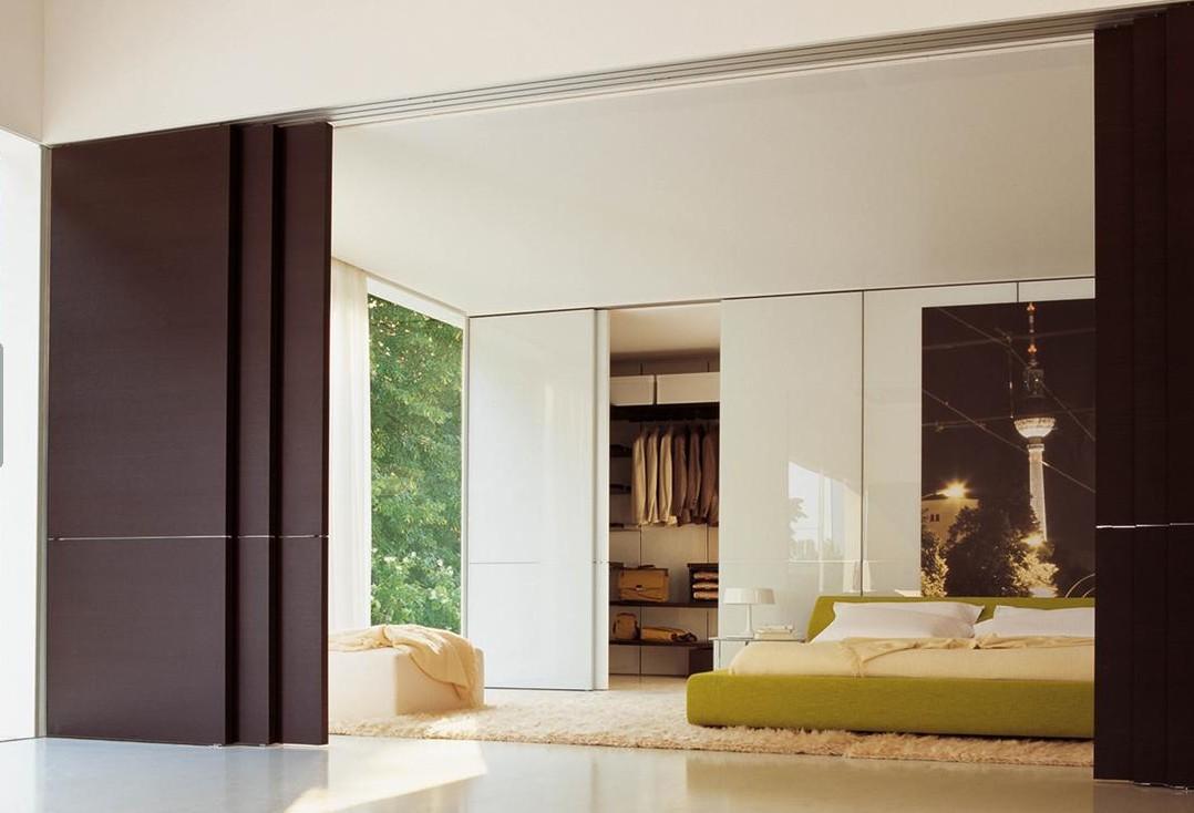 Inmeblock ahorra espacio con una puerta corredera for Separar ambientes