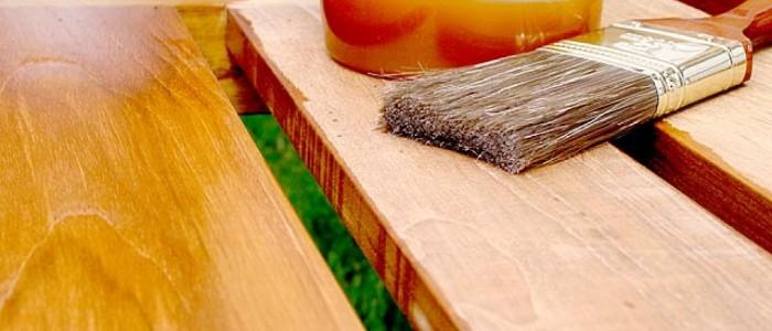 Productos protectores para la madera en exteriores